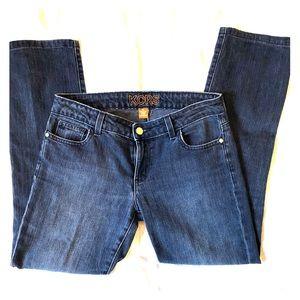 Michael Kors Deep Indigo Boot Cut Jeans